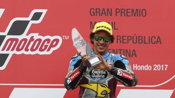 Franco Morbidelli podio Qatar