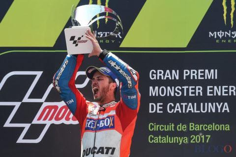 Dovizioso vincitore gran premio di Barcellona 2017